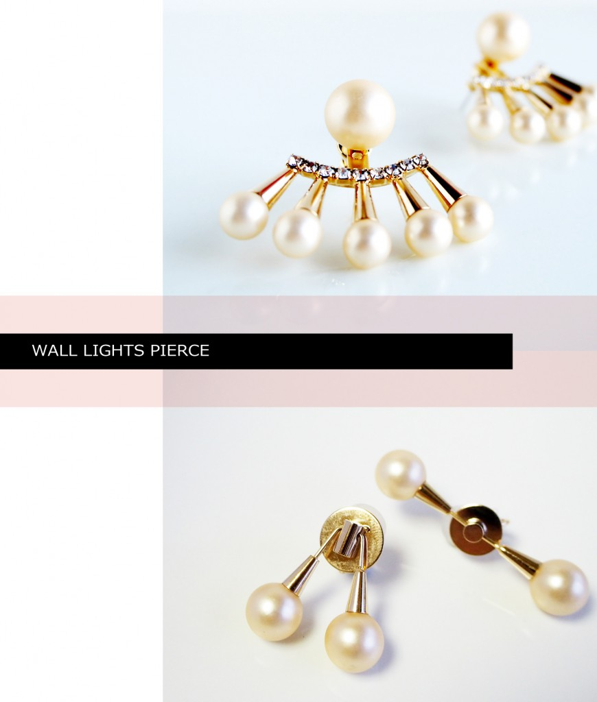 wall lights pierce cut